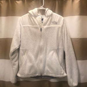 North Face Fuzzy Zip-up